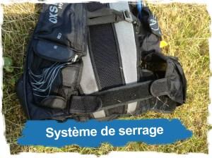 Hydragon Ace: Système de serrage ventral