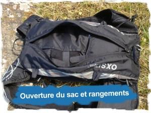 Oxsitis: ouverture et rangements