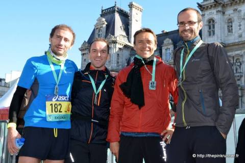 Ekiden de Paris: la team Runnosphère