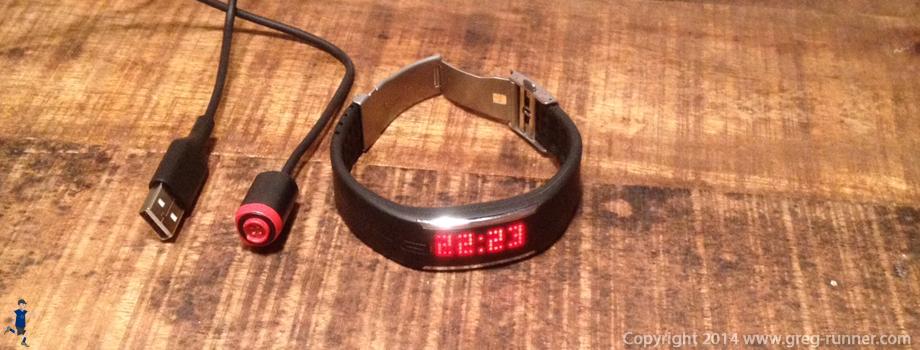 Bracelet tracker d'activité: le Loop de Polar