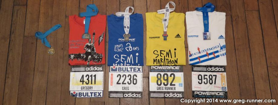 Recit de course: semi marathon de paris 2014