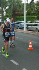 Triathlon de Cannes: course à pied