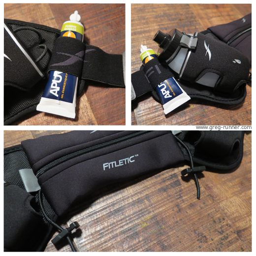 Ceinture Porte Bidon Fitletic: Close up