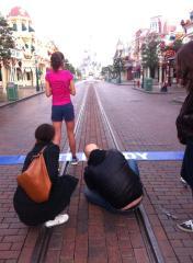 Shooting Photo Semi-marathon Disneyland Paris