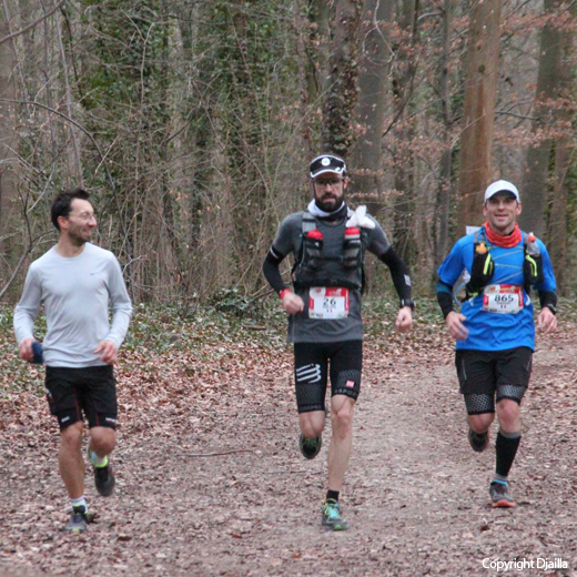 Ecotrail 80km: Saint-Cloud