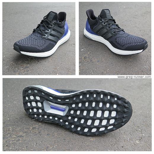 Adidas Ultra Boost: close-up