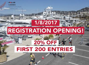 Polar Cannes International Triathlon 2018