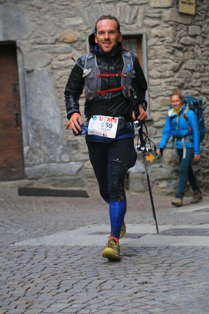 UTMB: A 200m du ravito de Courmeyeur