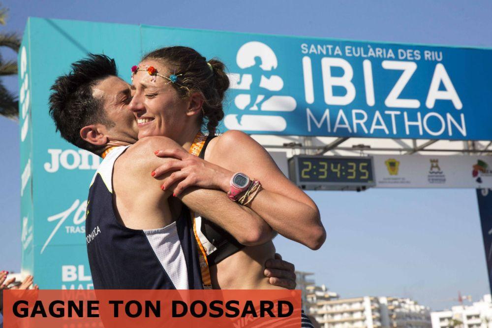 Marathon d'Ibiza: dossards à gagner