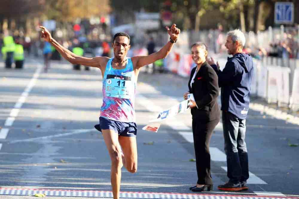 20km de Paris 2018: vainqueur Ophélie Samuel Tsegay