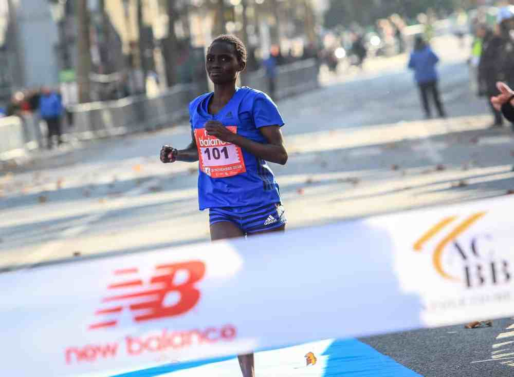 Vainqueur Femme du Semi-marathon de Boulogne-Billancourt 2018: Parendis LEKAPANA
