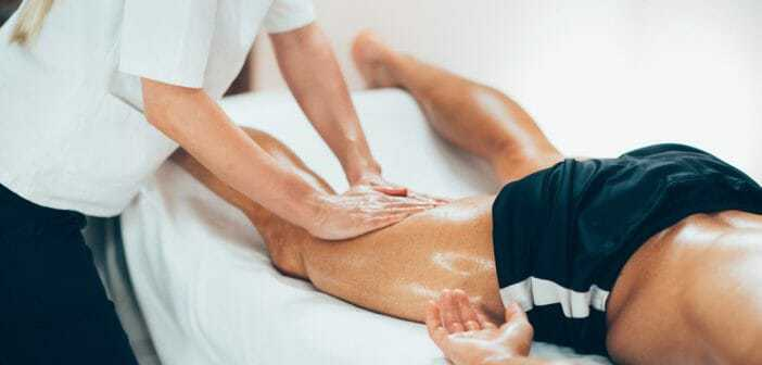 Idée cadeau à offrir à un coureur, runner, traileur, trailrunner: huile de massage à l'arnica Weleda