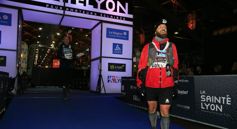 Saintelyon: finisher