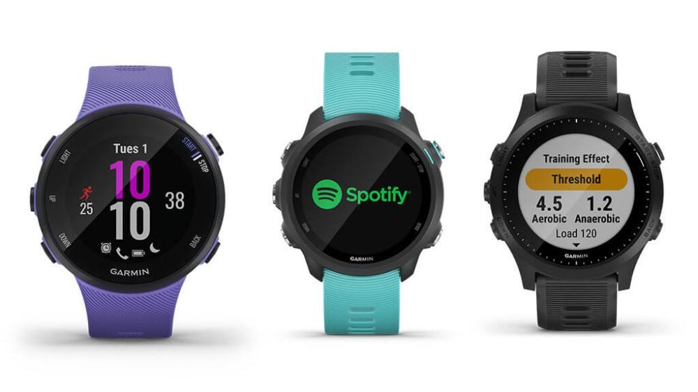 La nouvelle gamme de montres running GPS Garmin Forerunner