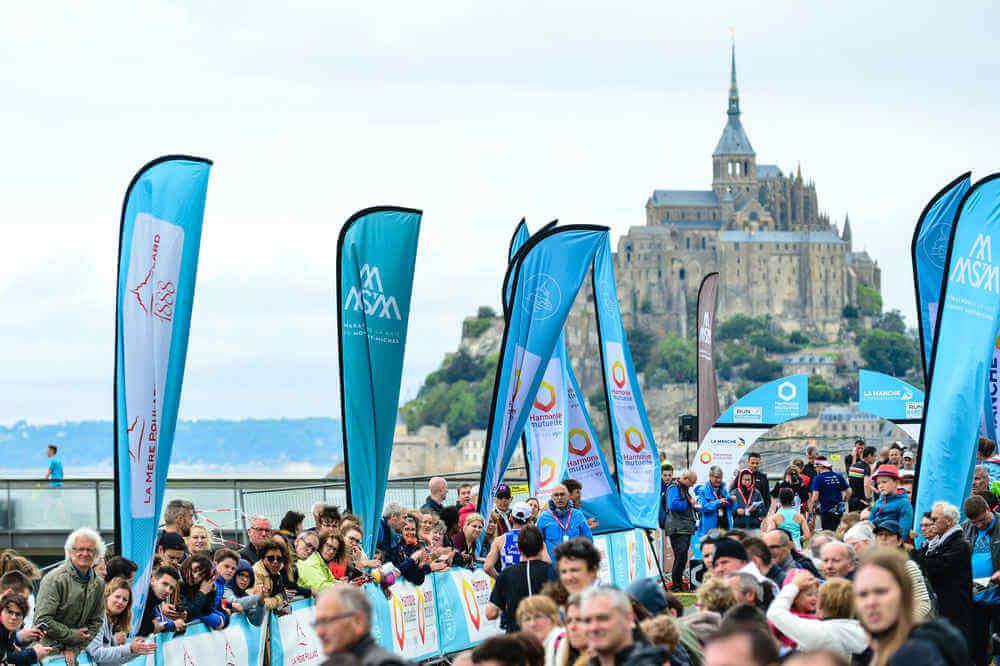 Run in Mont Saint-Michel