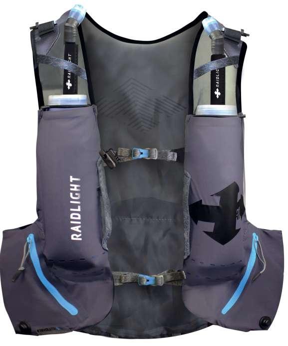 Sac ultra trail Revolutiv Vest 12 litres Face arrière