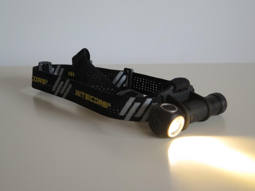 Nitecore UT32: lumière chaude