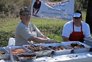 Texas BBQ at Grasslands Trail Races