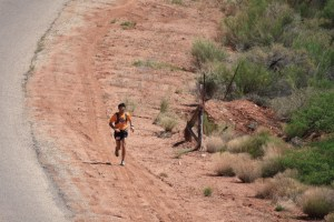 Gary Gellan at the zion 100