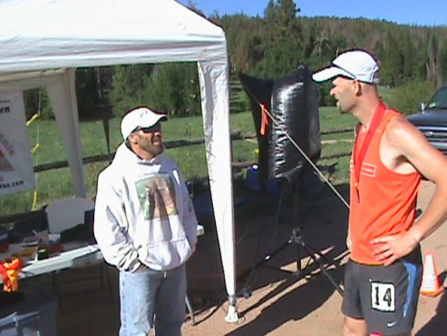 Picture of Craig Lloyd after Laramie 100