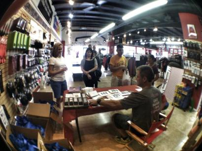 Packet Pickup at Rush Running