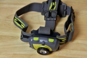 picture of fenix hl30 headlamp headlight from top
