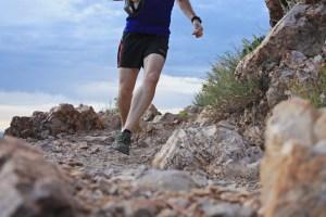 picture of running on top of rocks at mount olympus salt lake city utah
