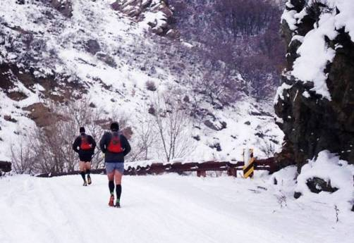 Winter Running in the New Balance Minimus 1010v2
