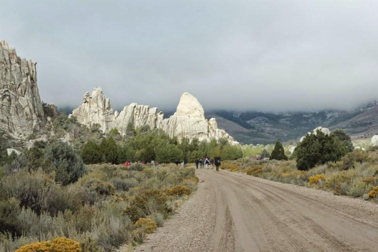 Road n rocks