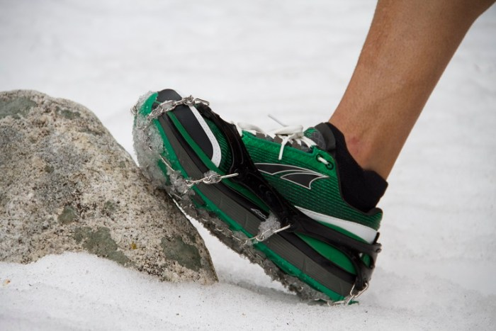 The Trail Crampon Ultras turned a relatively low traction, max cushion shoe into a snow running fiend