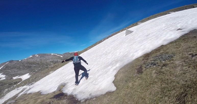 Battling Snow Drifts