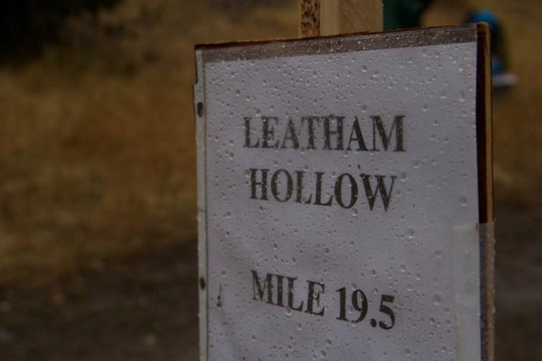 Leatham Hollow Aid Station 2016 Bear 100 Logan, UT