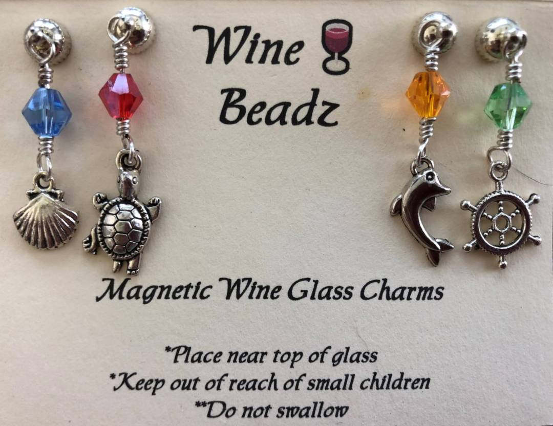 Wine Charmz - Nautical Theme