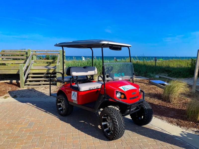 4 Passenger Golf Cart North Myrtle Beach