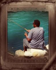 man fish respect