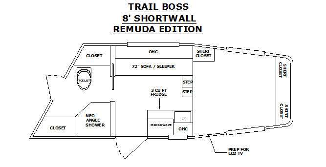 Trail Boss Conversions Horse Trailer Living Quarters