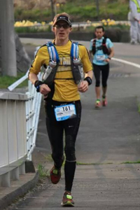 Henrik Westerlin under Ultra Trail Mount Fuji 2014