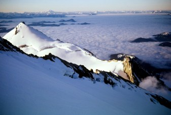 View South From Mt Baker Summit