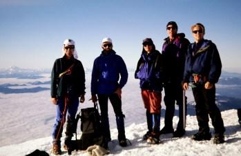 Group On Mt Baker Summit