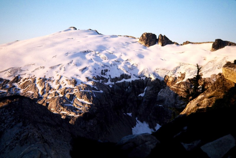 Morning Sun On Mutchler Peak