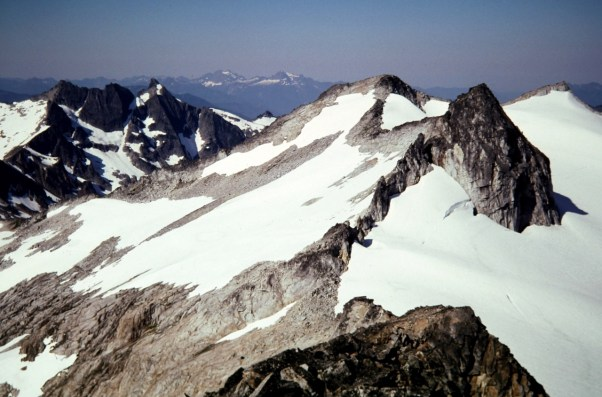 View Southwest From Snowking Mtn Summit