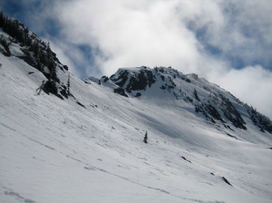 Jim Hill Mtn Summit From Ridge In 2019