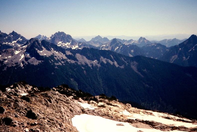 View Southeast From Big Snow Mountain