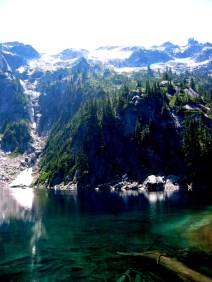 Big Snow Mountain From Big Snow Lake