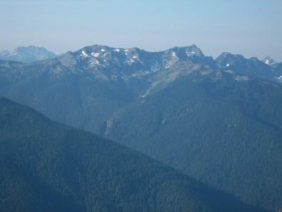 Mt Skokomish and Mt Anderson
