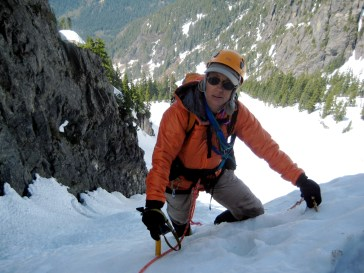 Fay On NW Couloir