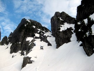 Main Peak and Leaning Tower