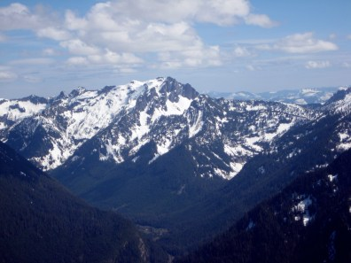 Snoqualmie Mountain From Summit
