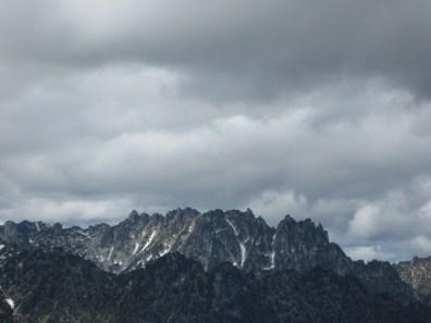 Temple Ridge From NE Peak