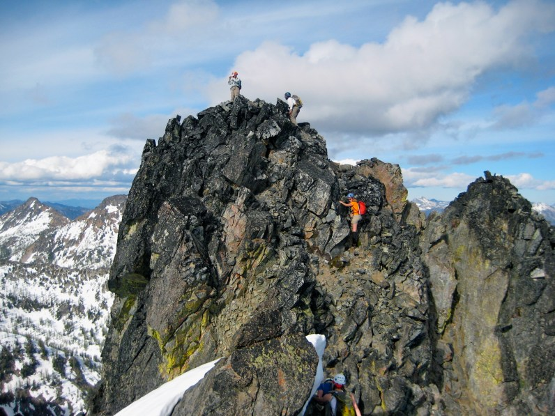 Summit Of Main Riddle Peak